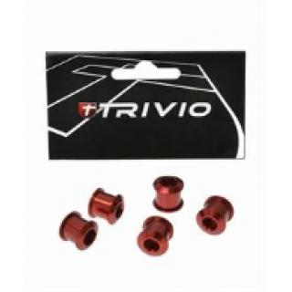 Trivio Race dantračio varžtai, 9.9X7.05, raudoni