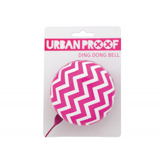 URBAN PROOF 80mm Dingdong Chevron pink skambutis