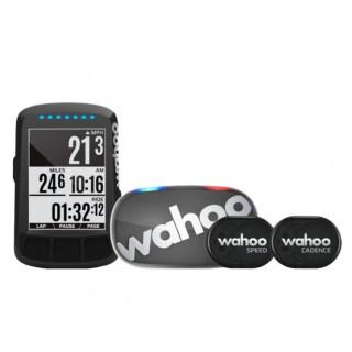 Wahoo Fitness ELEMNT BOLT STEALTH GPS dviračio kompiuterio komplektas