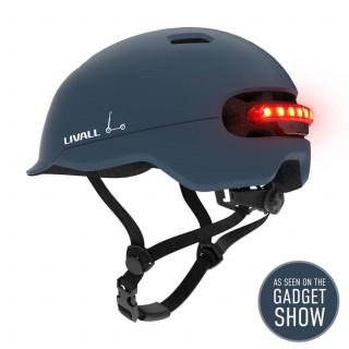 Livall C20 City išmanusis dviratininko / paspirtuko šalmas, Ocean Blue