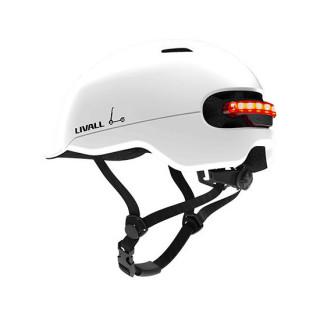 Livall C20 City išmanusis dviratininko / paspirtuko šalmas, White