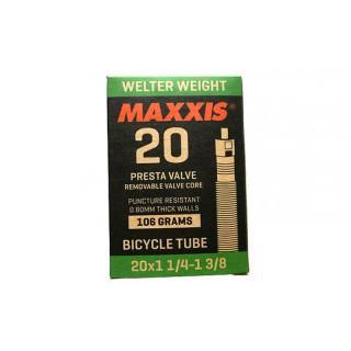 Maxxis 20 x 1 1/4 x 3/8 Presta kamera