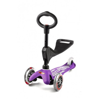 Mini Micro 3in1 Deluxe Purple paspirtukas