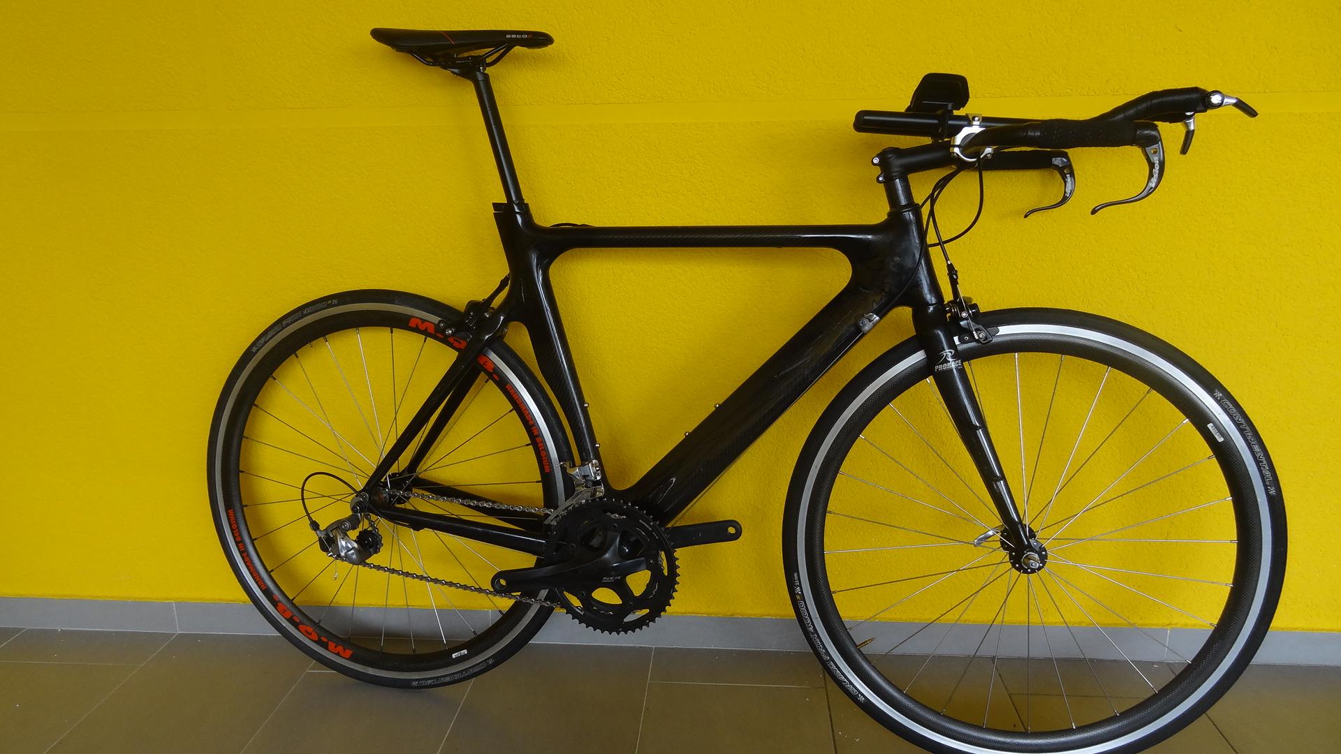 Karboninis dviratis, rėmo dydis 56